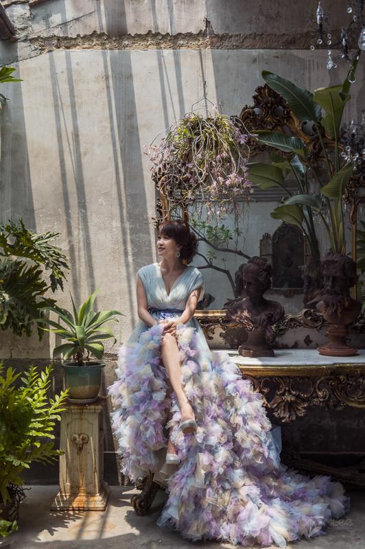自主婚紗,自助婚紗,奇美博物館,文青好好笑,台鹼宿舍