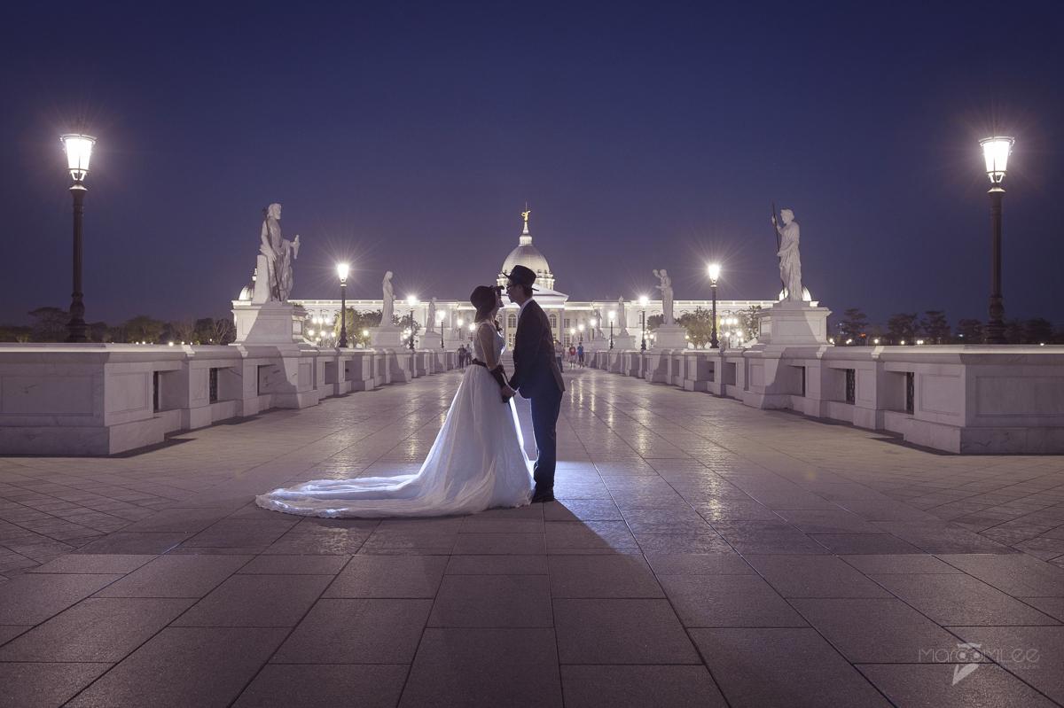 [台南自助婚紗] 自由 & 淑真 自助婚紗 @ 奇美博物館