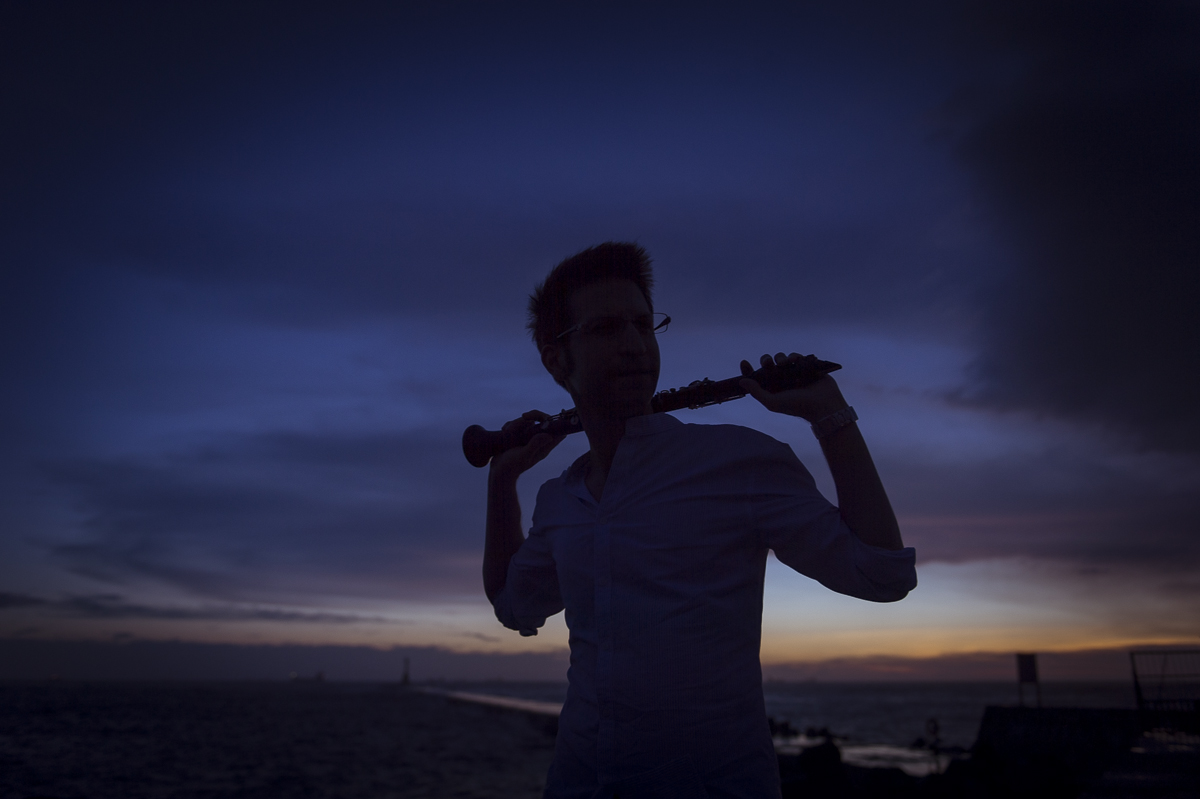 [個人藝術肖像] 專業人像攝影 @ 黑管音樂家