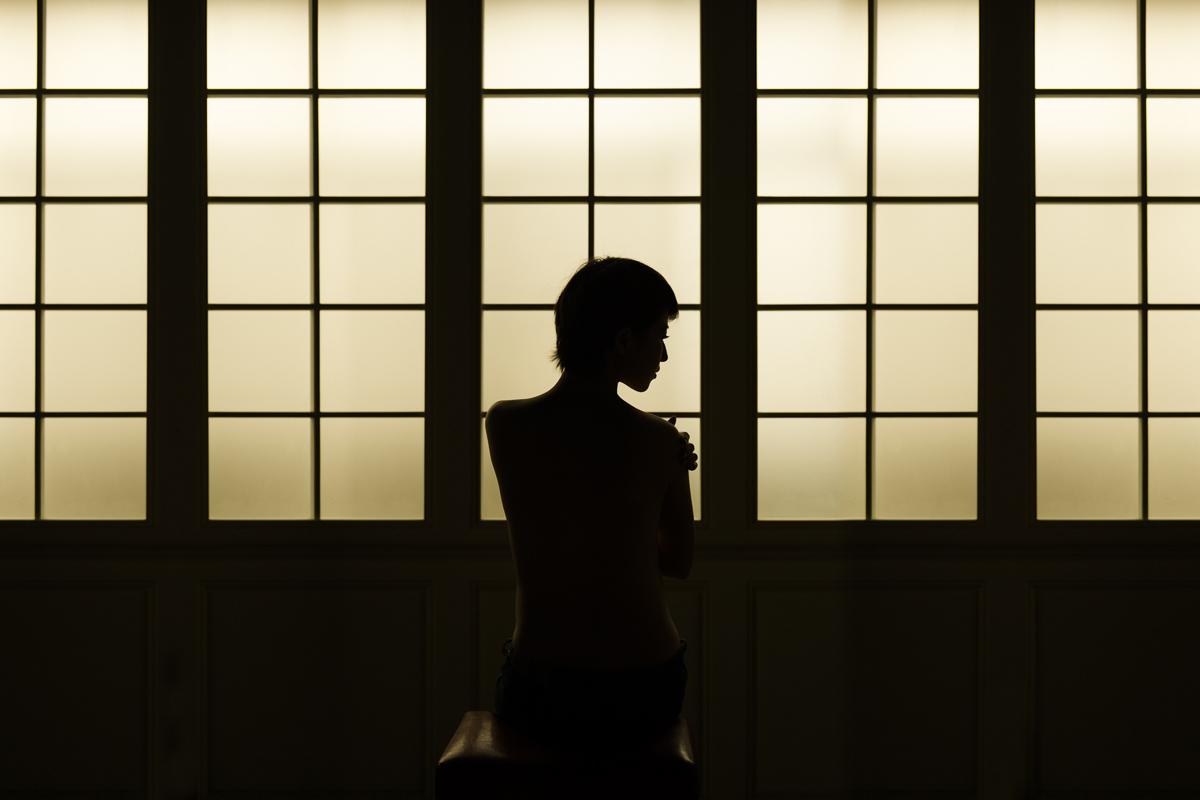 [高雄孕寫真] 微宣 妊娠 藝術 創作 @ 攝影棚拍攝