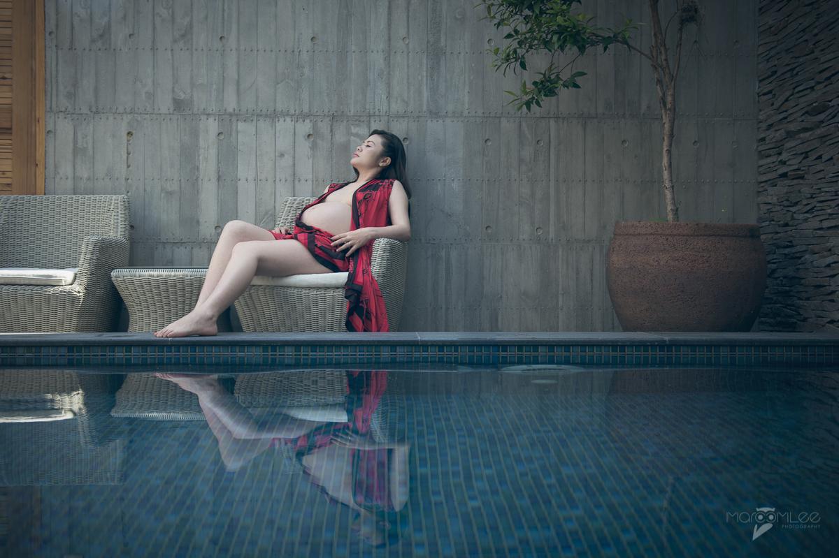[台南孕寫真] 玉菁 妊娠 藝術 創作 @ 清水漾 H Villa Motel