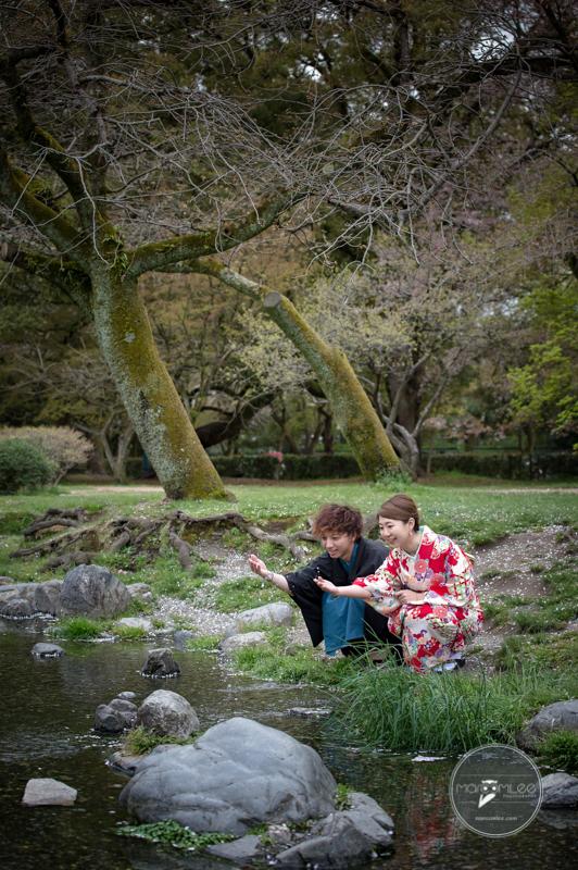 和服,櫻花,京都,婚紗,情侶寫真