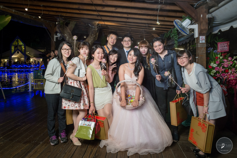 青青食尚花園, 台北婚攝, 證婚, 池畔, 婚禮記錄