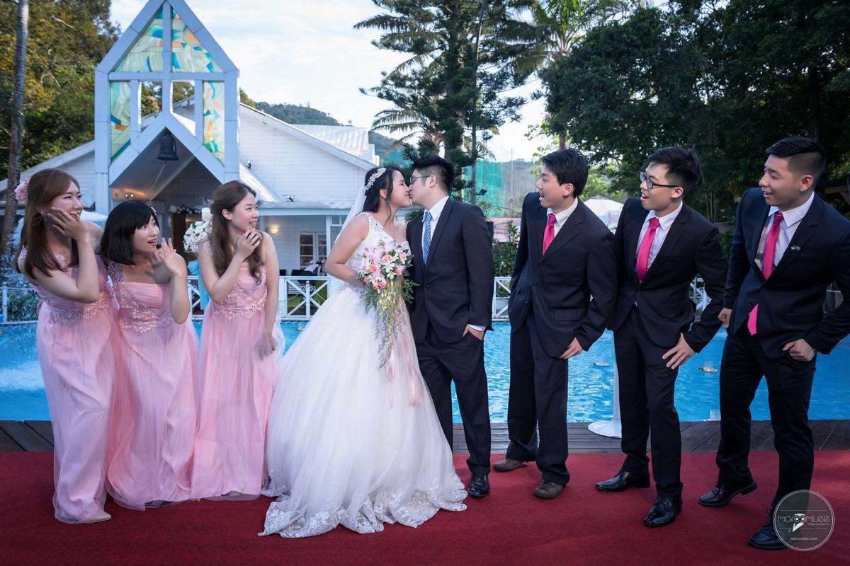 [台北婚攝] 允中 & 儀瑾 婚禮記錄 @ 台北青青食尚花園